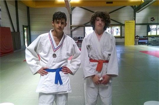 Nos 2 judoka